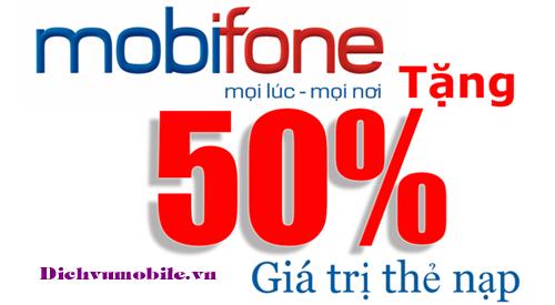 Khuyến mãi Mobifone