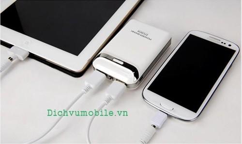 sac pin smartphone