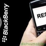 Hướng dẫn cách reset thiết lập lại cho điện thoại BlackBerry