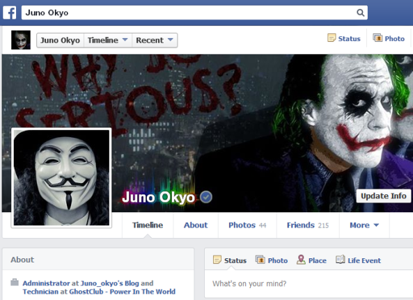 Thủ thuật sử dụng 2 avatar Facebook