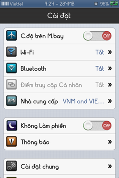doi font chu iphone 6