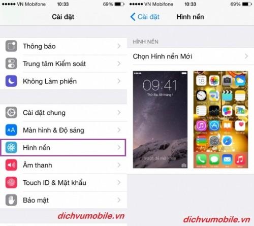 THAY ĐỔI GIAO DIỆN CHO IPHONE  1