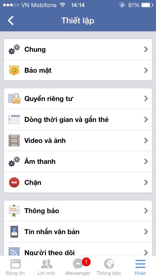 cach chan thong bao rac tren facebook bang dien thoai 1