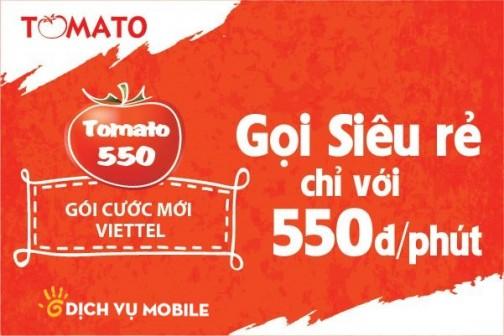 Goi khuyen mai tomato 550