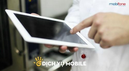 Khuyen mai data cho thue bao fast connect Mobifone