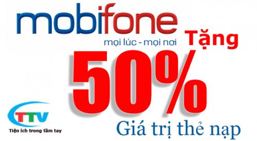 Mobifone khuyen mai 50 ngay 17-6-2015