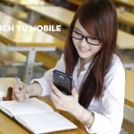 Tăng đến 2GB data 3g khi đăng ký gói Maxs sinh viên