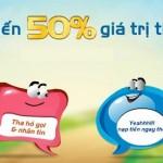 Mobifone khuyến mãi 50% thẻ nạp từ ngày 9 – 16/06/2015