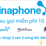 Khuyến mãi gọi miễn phí 3 mạng cho DN khi hòa mạng Vinaphone trả sau