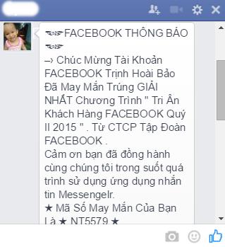Cach chan tin nhan lua dao Facebook