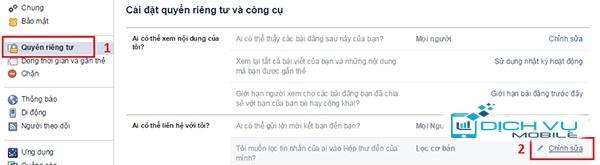 Chan tin nhan facebook 2