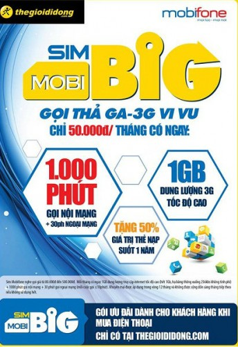 Goi khuyen mai Mobi Big cua Mobifone