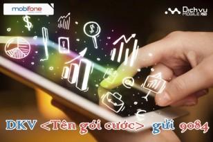 Các gói cước Fast Connect 3G của Mobifone