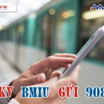 Đăng ký 3g gói cước Bmiu của Mobifone ưu đãi 3GB data