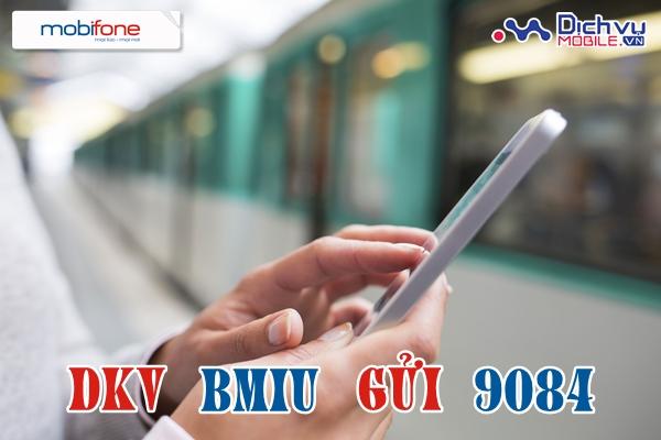 Đăng ký gói Bmiu của Mobifone