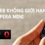 Đăng ký 3g gói cước Opera mini của Vinaphone