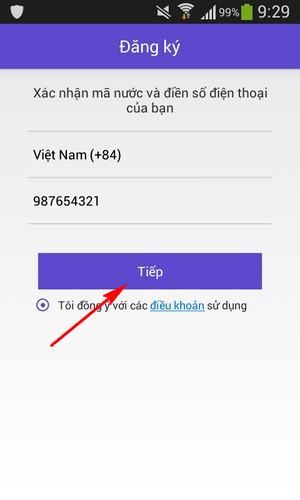 Tao nick Mocha Messenger Viettel