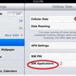 Cách nạp tiền và kiểm tra tài khoản sim 3G dùng trên Ipad