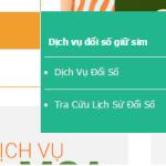 Hướng dẫn đổi số giữ sim Viettel trên shop.viettel.vn
