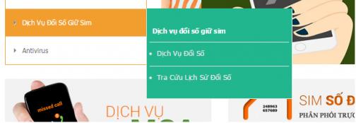 Huong dan doi so giu sim Viettel