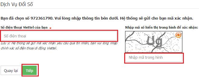 Huong dan doi so giu sim Viettel3