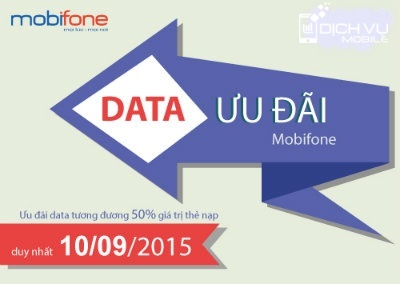 Khuyen mai Mobifone tang 50 data Fast connect ngay 10-9-2015