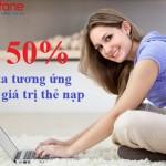 Khuyến mãi Mobifone tặng 50% data Fast Connect 23/9/2015