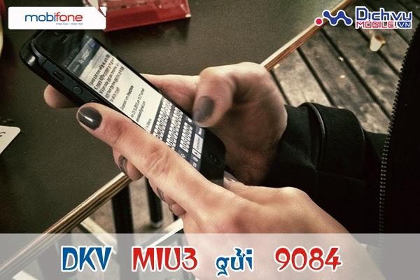 Đăng ký gói Miu 35k với sim tây nguyên Mobifone