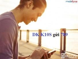 Dang ky goi K10s cua Mobifone