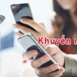 Khuyến mãi Mobifone tặng 50% thẻ nạp ngày 8/10/2015