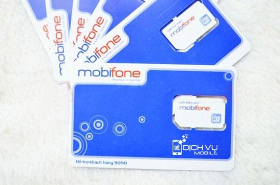 Chi tiết sim 3G Data30 của Mobifone 2.4GB data x 12 tháng: