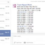 Cách chặn tin nhắn bán SIM, bán hàng trên Facebook