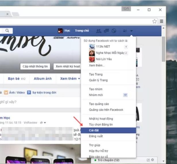 Chặn tin nhắn rao bán trên Facebook 2