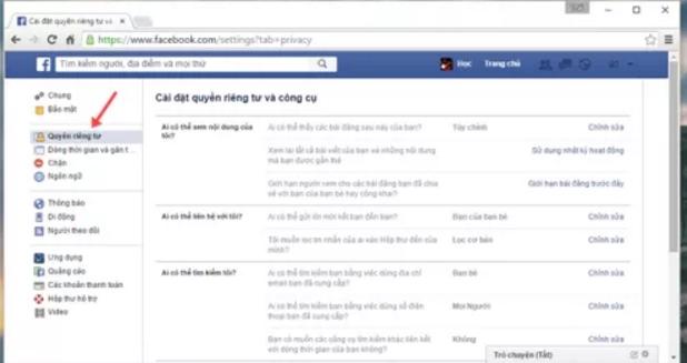Chặn tin nhắn rao bán trên Facebook 3
