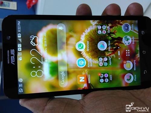 Cach nang cap ZenFone len Android 5.1