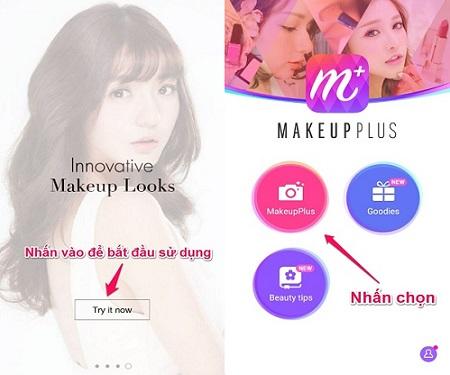 Cach su dung makeup Plus