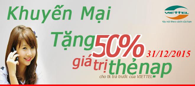viettel-khuyen-mai-50-gia-tri-the-nap-ngay-31122015