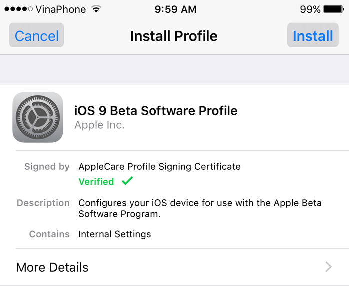 Hướng dẫn chi tiết cài đặt iOS 9.3 bản beta 1 (4)