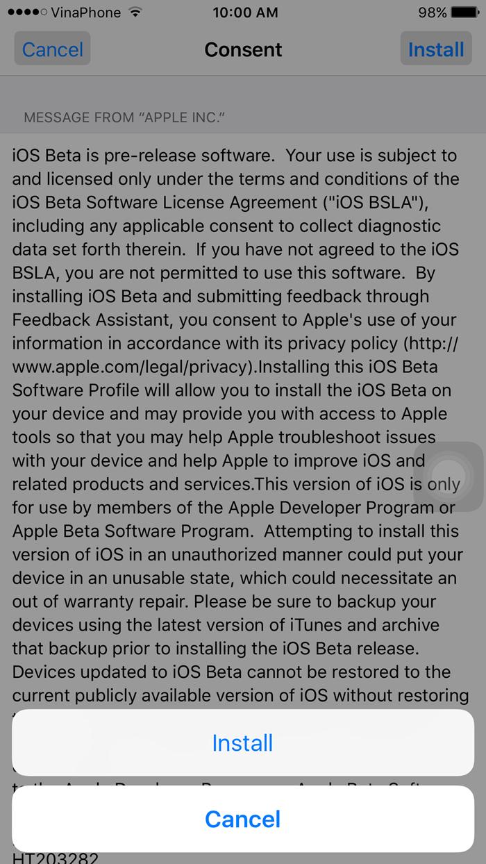 Hướng dẫn chi tiết cài đặt iOS 9.3 bản beta 1 (5)