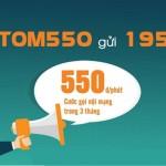 Cách gia hạn gói Tomato 550 Viettel, ưu đãi 550đ/phút