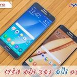Cách đăng ký 3g Mobifone cho Samsung Galaxy s6 và Note 5