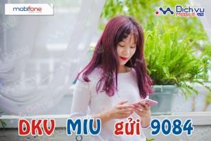 Đăng ký gói Miu của Mobifone