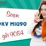 Đăng ký gói Miu90 Mobifone ưu đãi 1GB data chỉ 90.000đ tháng