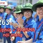 Hòa mạng gói cước Q-263, gói cước Đoàn Viên của Mobifone