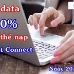 Khuyến mãi fast connect Mobifone tặng 50% data ngày 20/1