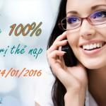 Viettel khuyến mãi tặng 100% thẻ nạp ngày 12 – 14/1/2016