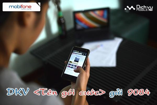 Các cú pháp tin nhắn đăng ký 3G Mobifone