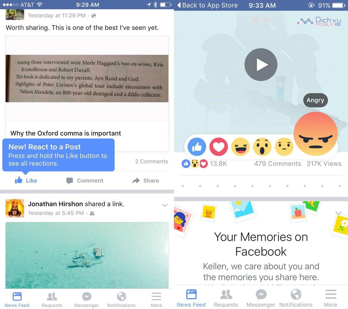 Cách sử dụng các biểu tượng cảm xúc mới trên Facebook