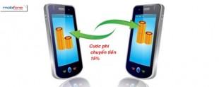 Cước phí khi chuyển tiền (M2U) của Mobifone