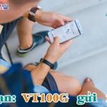 Đăng ký gói VT100G của Viettel nhận ưu đãi 3 trong 1